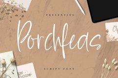 Web Font Porchfeas Product Image 1