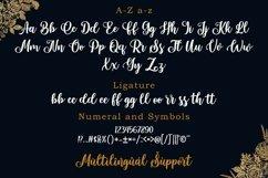 Portland Script   A Beautiful Calligraphy Font Product Image 5