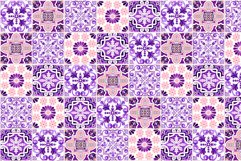 Portuguese Purple Azulejo Tiles Set4 Product Image 3