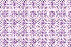 Portuguese Purple Azulejo Tiles Set4 Product Image 4