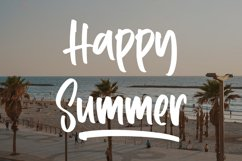 Positive - Summer Display Font Product Image 2