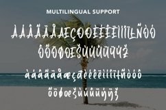 Web Font Positive - Summer Display Font Product Image 6