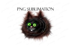 Funny cat clipart, cute animal PNG image for sublimation. Product Image 1