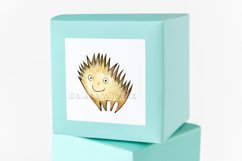 Watercolor cartoon clipart. Funny baby animals. Product Image 6
