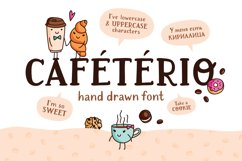 Cafeterio cute kid's font Product Image 1