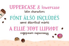 Cafeterio cute kid's font Product Image 4