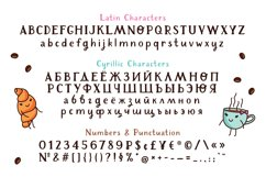 Cafeterio cute kid's font Product Image 3