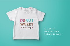Cafeterio cute kid's font Product Image 5