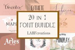 Font Bundle LABFcreations. Product Image 2