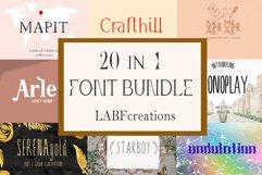 Font Bundle LABFcreations. Product Image 3