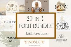 Font Bundle LABFcreations. Product Image 1