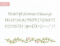 Digital Planner Hand Lettered Font Product Image 2
