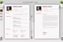 CV & Resume Template Product Image 4