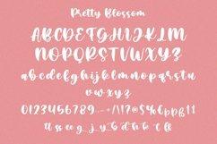 Web Font Pretty Blossom - Cute Handwritten Font Product Image 6