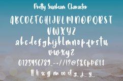 Pretty Sunbeam - Cute Handletter Font Product Image 4