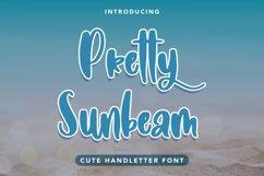 Pretty Sunbeam - Cute Handletter Font Product Image 1