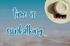 Web Font Pretty Sunbeam - Cute Handletter Font Product Image 5