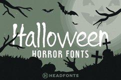 Halloween Horror Font Bundle Product Image 1