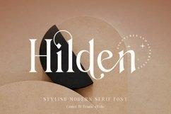 Hilden - stylish modern serif font Product Image 1