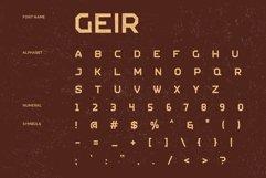 GEIR - Vintage Display Font Product Image 4