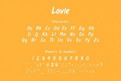 Lovie - Display Font Product Image 3