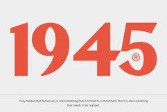 IMPROVIE - Bold Serif Font Product Image 3