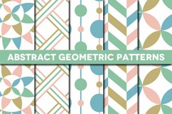 Abstract Geometric Patterns Product Image 1