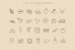 Retro Logo Elements, Logo Design, Icons, Illustrations Product Image 1