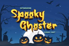 Spooky Ghoster a Horor Font Product Image 1