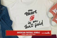 My heart is on that field american football quote png Product Image 1