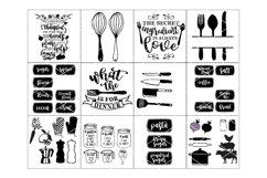 Happy Kitchen SVG Cut File Bundle Product Image 2