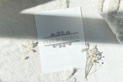 Retro Frame Logo Elements, Logo Design, Business cards Product Image 6