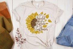 Sublimation sunflower quotes bundle Product Image 3