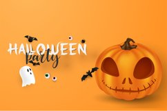 Spooky Ghoster a Horor Font Product Image 6