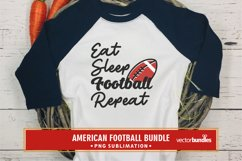 Eat sleep football repeat quote png Product Image 1
