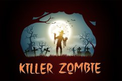 The Holler a Halloween Font Product Image 3