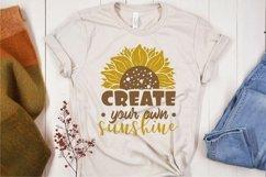 Sublimation sunflower quotes bundle Product Image 5