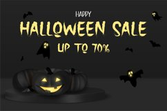 The Holler a Halloween Font Product Image 5