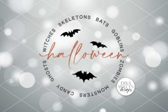 Halloween Word Art SVG | Halloween Sign SVG | DXF and More! Product Image 3