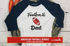 Football dad sublimation quote png Product Image 1