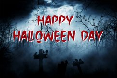The Holler a Halloween Font Product Image 6