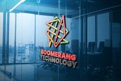 Boomerang Technology Logo Template Product Image 1