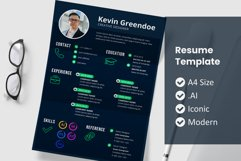 Resume Template Vol 24 Product Image 1