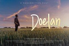 Doelan - A Handwritten Font Product Image 1