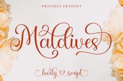 Maldives Lovely Script Product Image 1