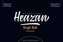 Heazan - Script Typeface Product Image 1