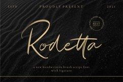 Rodetta_new brush handwritten font Product Image 1
