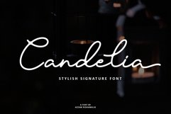 Candelia Font Product Image 1