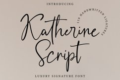 Katherine Script Product Image 1