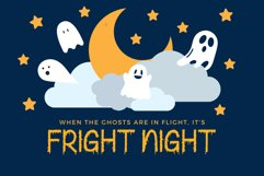 Creepy Ghost - A Halloween Display Font Product Image 2